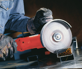Каким кругом резать металл?