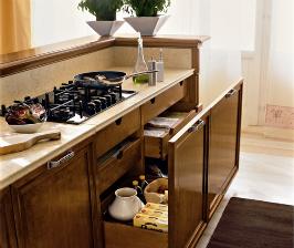 <strong>19</strong>  моделей деревянных кухонь