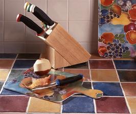 Мозаичная кухонная столешница своими руками