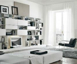 <strong>25</strong> композиций белой мебели для гостиной