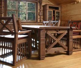 <strong>13</strong> интерьеров с мебелью из дерева