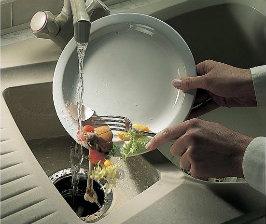 Измельчители пищевых и бытовых отходов