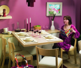 Как сделать откидной обеденный стол?