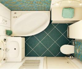Как правильно размещать сантехнику и мебель в совмещенном санузле