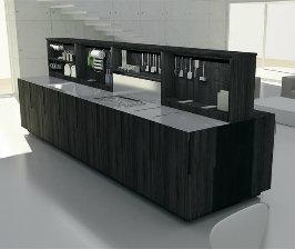 Что в моде: кухни-трансформеры