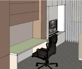 Как обустроить маленький кабинет?