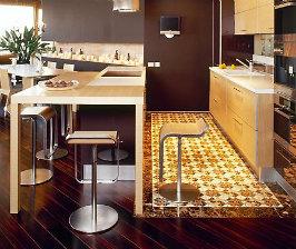 Напольное покрытие для кухни: какой пол лучше?
