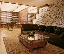 Гостиная в стиле этно