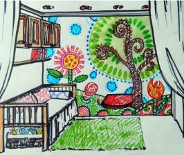 Как обустроить детскую в однокомнатной квартире?