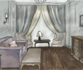 Как совместить гостиную и спальню в одном помещении?