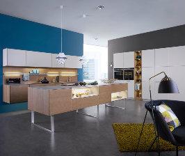 «Парящая» кухня Leicht