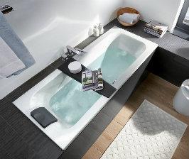 Геометрия ванной от Villeroy & Boch