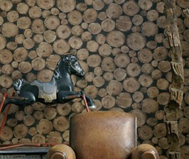 Maison&Objet, осень 2012. Тенденция  Bling-Bling. Дорогое дерево