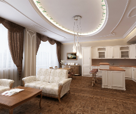 4-комнатная квартира с 3 санузлами: проект Сергея Ожогина