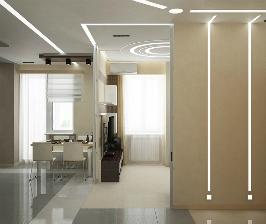 Квартира-студия в стиле хай-тек: проект Алексея Базыля