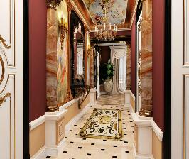 Трешка в стиле барокко в доме 90 серии: проект Анны Владимировой
