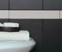 <strong>20</strong> вариантов черной плитки для ванной