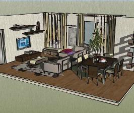 5-комнатная двухуровневая квартира свободной планировки: проект Елены Кабиной