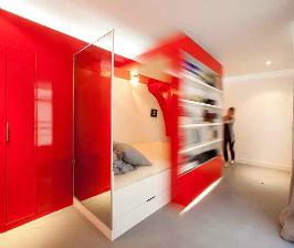 Париж: многофункциональная комната 23 кв.м