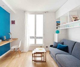Париж: студия 15 кв.м