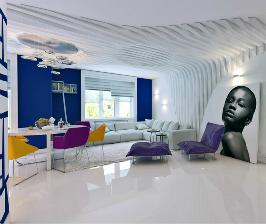 Трешка со спальней на мансарде: дизайнер Марина Кутузова