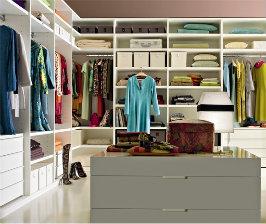 Типы гардеробных