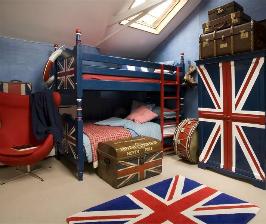 Английский интерьер в стиле Сool Britain
