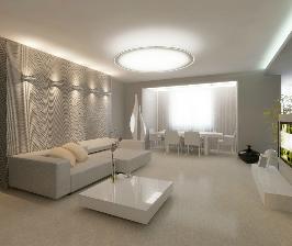 3-комнатная квартира в светлых тонах: проект архитектурного бюро «SNOU project»