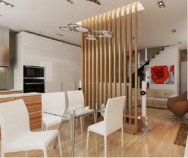 Двухэтажный кирпичный коттедж ссауной: архитектор Ксения Елисеева