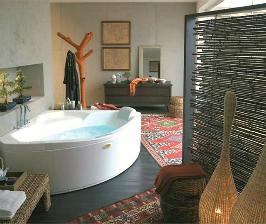 Сидячие компактные ванны