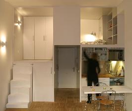 Мадрид:  квартира 28 кв. м