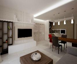 Из двушки — трешка с детской и спальней: дизайнер Татьяна Дамиани-Каштанова