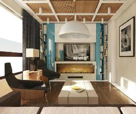 1-комнатная квартира в доме серии II-04: проект Ольги Морозовой