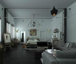 Арт-апартаменты в историческом доме: проект Антона Зайцева