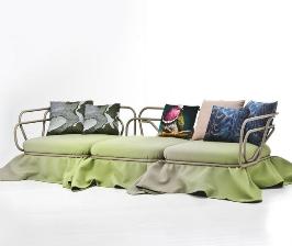 Дизайн диванов и кресел: 8 самых интересных заимствований из модной одежды