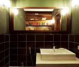 Туалет-библиотека:  13 вдохновляющих идей