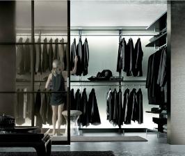 Планировка гардеробной: 5 способов расстановки мебели