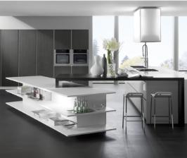 Как оформить кухню в квартире-студии