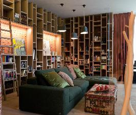 Размещение библиотеки в квартире