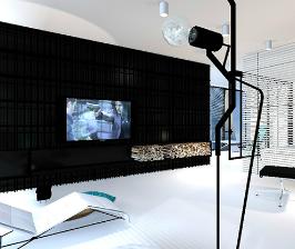 Апартаменты для временного проживания: архитектор Сергей Наседкин