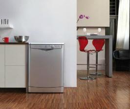 Посудомойка Indesit  справляется с большими  кастрюлями