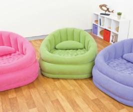 Надувная мебель для загородного дома и пикника