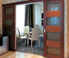 Межкомнатные двери: как поставить их на ролики?