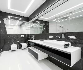 Традиционные материалы мебели для ванной