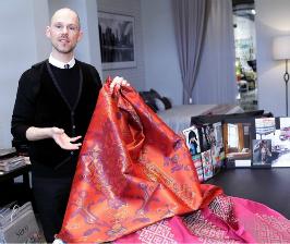 Коллекции SAHCO 2014 представил арт-директор компании Паскаль Волтер
