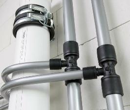 Трубопровод для систем водоснабжения и отопления: пластики