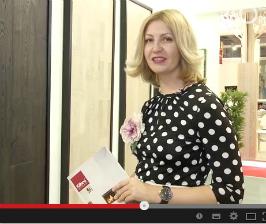 Пастель и древесина марки Kahrs.<br> Видео с выставки Domotex Russia 2014