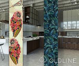 Презентация фабрики OldLine. Кухни и обои.