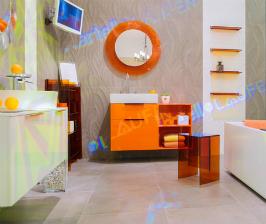 Kartell by Laufen дарит оранжевое настроение