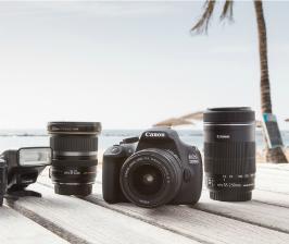 Canon делает съемку цифровой зеркальной камерой еще проще